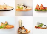 Mãn nhãn với bộ sưu tập giày dép từ Sushi của đầu bếp người Ý
