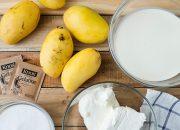 Tự làm bánh kem xoài không cần lò nướng