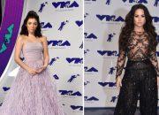 Những chiếc đầm hở táo bạo trên thảm đỏ MTV VMA 2017