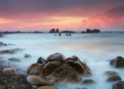 Bãi biển Cổ Thạch và mùa rêu đẹp như cổ tích