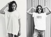 30 ngày phong cách với chỉ một chiếc áo phông trắng basic