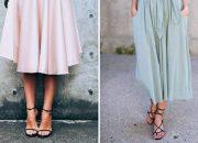Không phải mọi kiểu giầy đều có thể kết hợp được với chân váy midi
