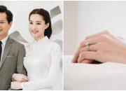 'Choáng' với chiếc nhẫn cưới tiền tỉ của Hoa hậu Đặng Thu Thảo ngày đính hôn